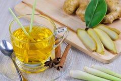 Чай лимонного сорга Стоковое Изображение