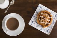 Чай и печенье Стоковые Изображения