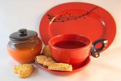 Чай и печенья Стоковое фото RF