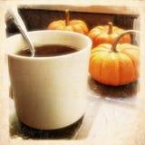 Чай и тыквы кофе Стоковое Фото