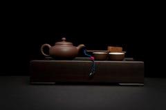чай китайца установленный Стоковое Фото