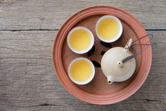 чай китайца установленный Стоковое фото RF