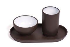 чай китайца церемонии установленный Стоковые Изображения RF