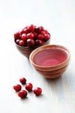 чай клюквы Стоковое фото RF