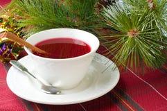 чай клюквы Стоковое Фото