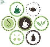 Чай Комплект Стоковое Изображение RF