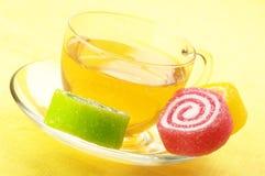 чай конфеты цветастый Стоковая Фотография RF