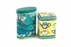 чай коробки стоковое изображение