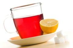чай красного цвета чашки Стоковая Фотография