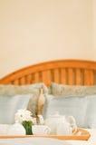 чай кровати стоковые изображения