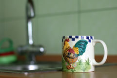 чай кружки Стоковая Фотография