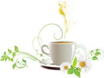 чай крышки Стоковые Изображения
