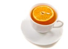 чай крышки стоковое изображение