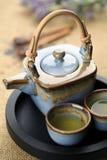 чай лаванды стоковая фотография