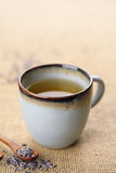 чай лаванды стоковое фото rf