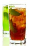 чай лимона льда Стоковое Изображение RF