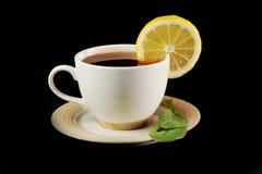 чай лимона чашки Стоковое Фото