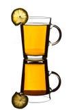 чай лимона чашки Стоковая Фотография