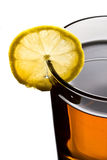 чай лимона чашки Стоковая Фотография RF