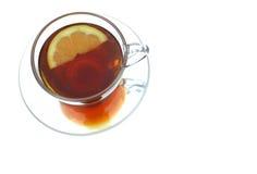 чай лимона Стоковые Фото