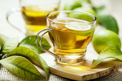 чай лимона Стоковое Изображение RF