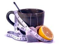 чай лимона detox Стоковое фото RF