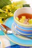 чай липы стоковое изображение rf