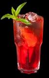 чай льда grenadine цитруса стоковые изображения