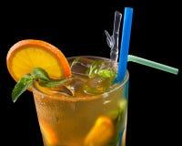 чай льда grenadine цитруса стоковое фото rf