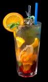 чай льда grenadine цитруса стоковое фото