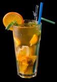 чай льда grenadine цитруса стоковая фотография rf