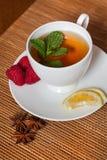 Чай мяты травяной Стоковое Фото