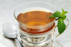 чай мяты Стоковая Фотография