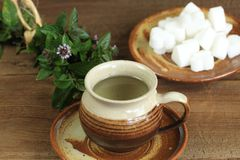 Чай мяты Стоковая Фотография RF