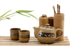 чай обслуживания гончарни Стоковые Фото