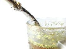 чай ответной части чашки closeip Стоковые Фотографии RF