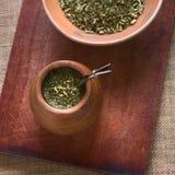 Чай ответной части Yerba Стоковое Изображение RF