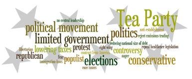 чай партии Стоковое Изображение