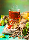 Чай плода шиповника Стоковое Изображение