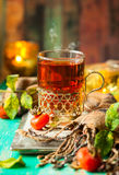 Чай плода шиповника Стоковые Фото