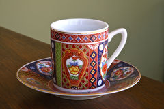 чай поддонника чашки Стоковые Изображения RF