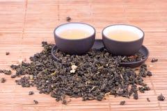 чай поднимает стоковое изображение rf
