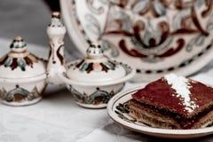 чай поленики торта Стоковые Изображения