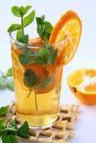 чай померанца мяты ветвей Стоковая Фотография