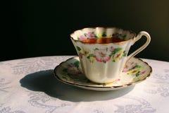 чай после полудня стоковое фото