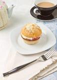 чай после полудня cream Стоковое Изображение RF