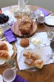 Чай/после полудня утра Стоковое Изображение RF