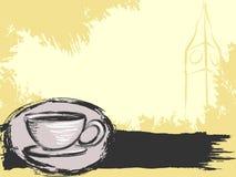 чай предпосылки английский grungy Стоковое Изображение
