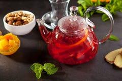 Чай приправленный ягодой Стоковое Изображение RF