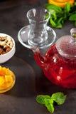 Чай приправленный ягодой Стоковое Изображение